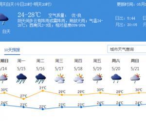 暴雨将来!15日深圳将迎今年首场大范围暴雨