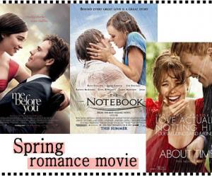 周末看场浪漫电影如何?记得买爆米花和烤鸡