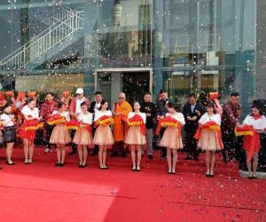 如一坊海鲜火锅开业剪彩仪式精彩纷呈 各界人士纷纷前来庆贺