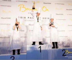 博古斯世界烹饪大赛2018年亚太区选拔赛日本队折冠