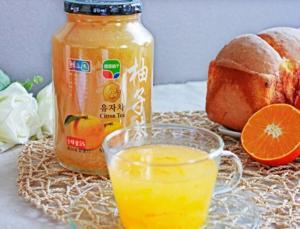 """比水光针更管用的""""美白大法"""":纯正韩国柚子茶"""