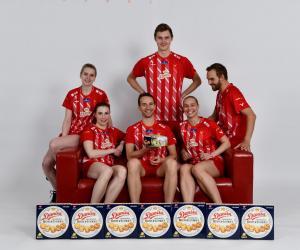 丹麦羽毛球队携手皇冠丹麦曲奇 征战2019苏迪曼杯